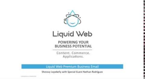 Take a tour of our Premium Business Email