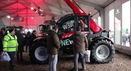 Welcome to the Massey Ferguson show stand at Lamma 2017