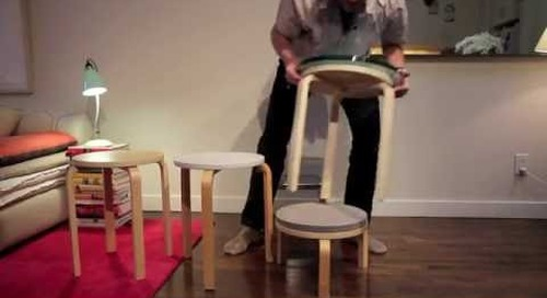 How To Hack An Ikea Frosta Stool (with Maxwell Ryan)