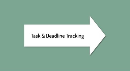 Track Tasks and Grant Deadlines