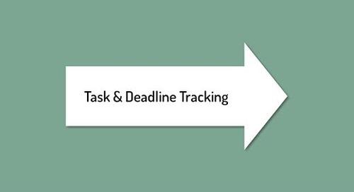 Track Tasks and Grant Deadlines