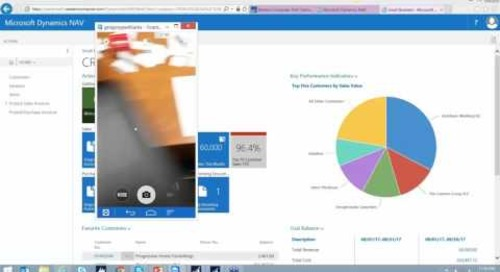 Microsoft Dynamics NAV 2016 - Mobile App Demo