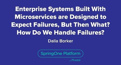 Enterprise Systems Built with Microservices are Designed to Expect Failures