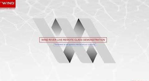 Education Services - Live Remote Demonstration