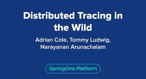 Distributed Tracing in the Wild