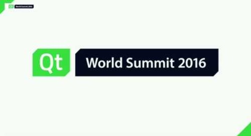 QtWS16- Birds of a Feather Session: Automotive