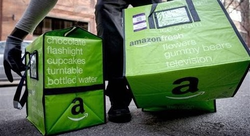 Amazon to Open Grocery Stores, Curbside Service