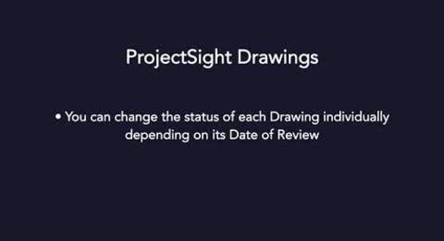 ProjectSight - Drawings Module