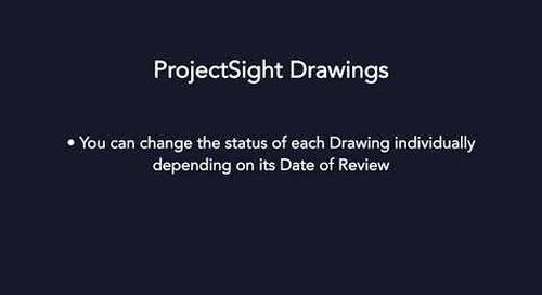 ProjectSight - Drawings Module