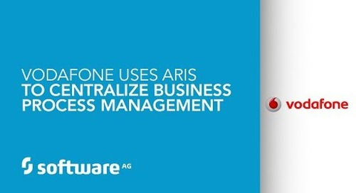 Vodafone uses ARIS to centralize business process management