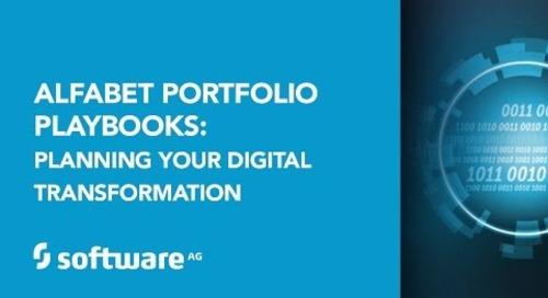 Alfabet Portfolio Playbooks: Planning your Digital Transformation