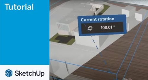 SketchUp Viewer for Hololens 2 07 Rotate