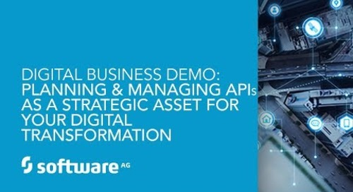 Demo: APIs as a Strategic Asset for Your Digital Transformation