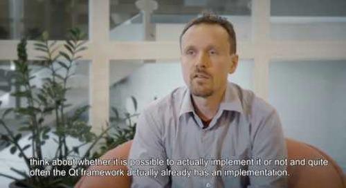 Built with Qt: Parker Hannifin - Managing the UX platform project