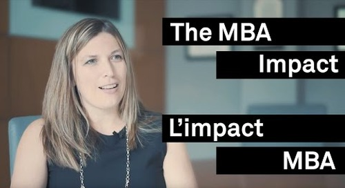 The MBA Impact: From Working in the System to Working on the System