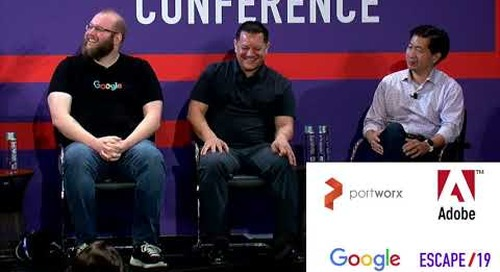 ESCAPE Conference 2019: Going Multi-Cloud For Realz -- Panel Host - Lisa-Marie Namphy, Portworx