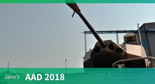AAD 2018: RG41 Wheeled armoured combat vehicle - Denel