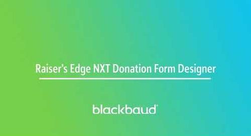 Blackbaud Raiser's Edge NXT In a Flash: Donation Forms