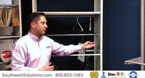 Hanging Bag Garment Rail Shelving Systems