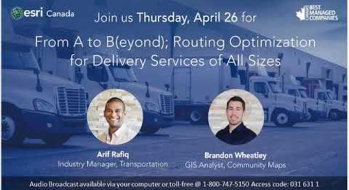 From A to B(eyond); Routing Optimization for Delivery Services of All Sizes