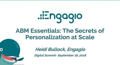 ABM Essentials: The Secrets of Personalization at Scale | Replay