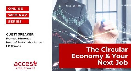 The Circular Economy & your next job