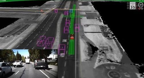Google Self-Driving Car on City Streets