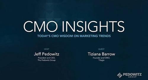 CMO Insights: Tiziana Barrow, Founder and CMO, Tilagia