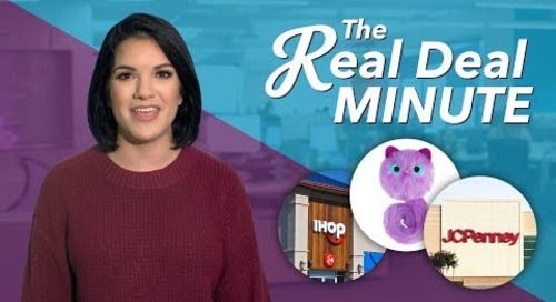 The Real Deal Minute: Black Friday Doorbusters, Rainbocorns and More Holiday-Shopping Madness
