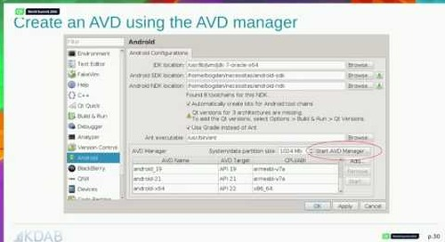 QtWS16- All about Qt on Android: Say hello to Qt on Android, BogDan Vatra, KDAB