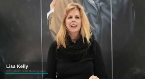 Lisa Kelly introduces YKK's Woven-In Zipper