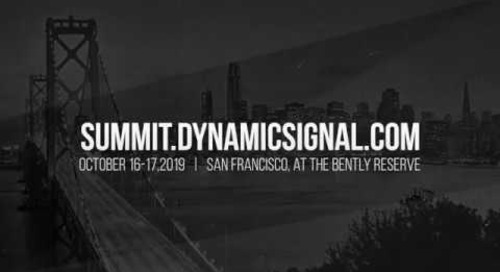 Summit by Dynamic Signal - 2019 Preview