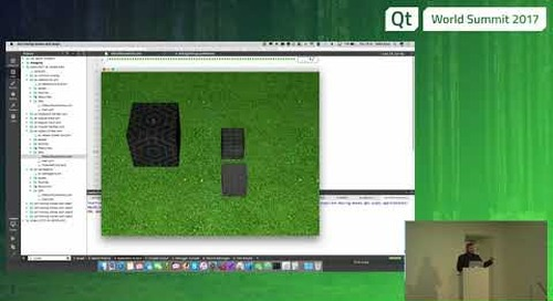 QtWS17 - Interacting with 3D content, Mike Krus, KDAB