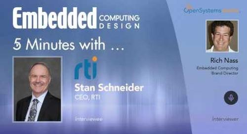 Five Minutes With… Stan Schneider, CEO, RTI