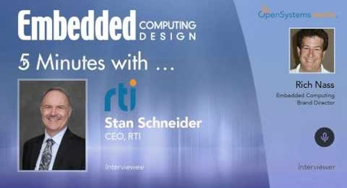 Five Minutes With… Stan Schneider, CEO, RTI