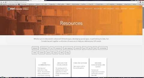 Programming resources and open data sources