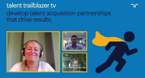 how Cisco develops talent acquisition partnerships | talent trailblazer tv.