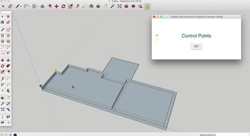 Trimble Site Contractor SketchUp Extension