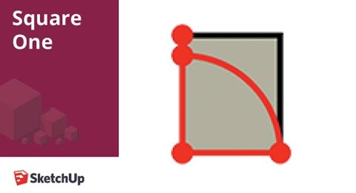 Rotated Rectangle - Square One