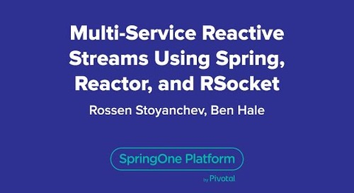 Multi-Service Reactive Streams Using Spring, Reactor, and RSocket