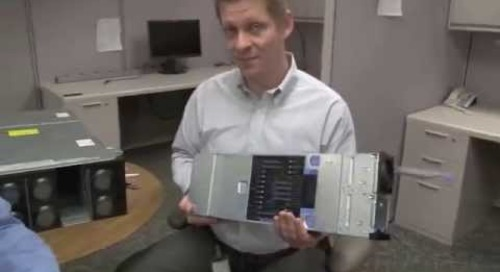 Lenovo System x3850 X6 video walk-through