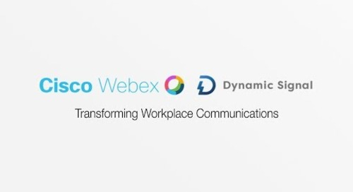 Dynamic Signal & Cisco - Transforming Workplace Communications
