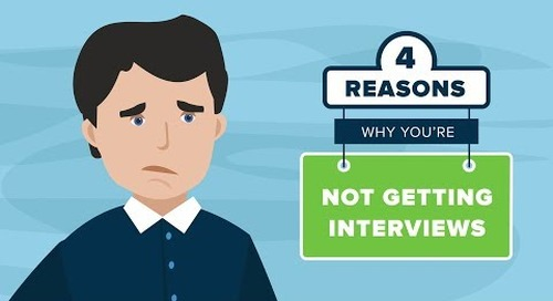 4 Reasons Why You're Not Getting Interviews
