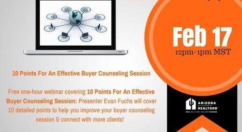 Part 1 of 3: Effective Buyer Consultations 2.17.2016