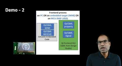 Model-based HMI development using Qt