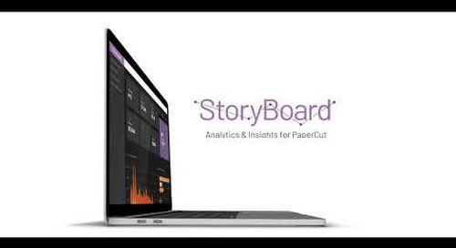 Storyboard: Analytics & Insights for PaperCut