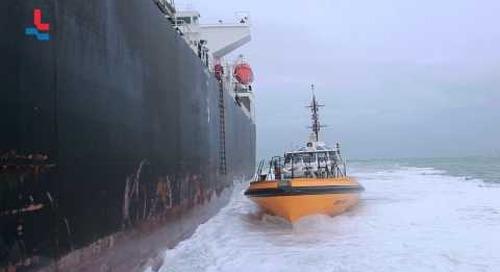 Jetgedreven tender Discovery klasse - Nederlands Loodswezen 2014