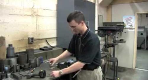 CrystalBlast Maintenance Replacing Tube-O-Matic