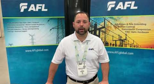Rodolfo Elizondo at Utility Expo talking Transmission and Distribution