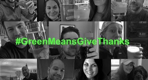 Maplewood Brewery Shares Coyote's #GreenMeansGiveThanks